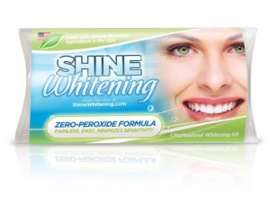Shining White teeth
