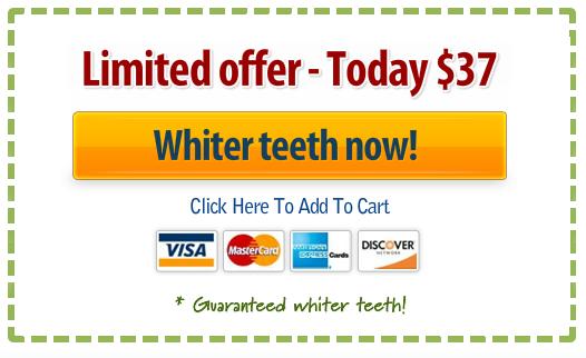 Whiter teeth now!