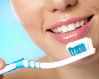 Brushing for teeth whitening